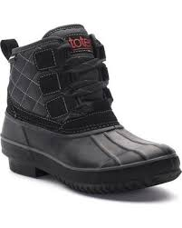 womens winter boots for sale check out these deals on totes erin s winter duck boots