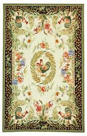 Rooster Rugs Round by Amazon Com Safavieh Chelsea Collection Hk92a Hand Hooked Cream