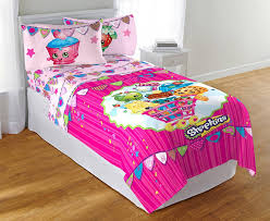 Doc Mcstuffins Twin Bed Set by Amazon Com Shopkins Twin Sheets Set Home U0026 Kitchen