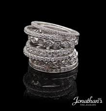 stackable diamond rings diamond trends stackable diamond rings