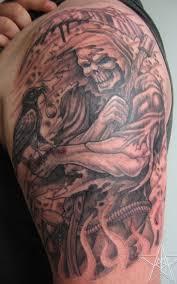 grim reaper tattoos muskegon michigan usa