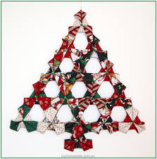 wall christmas tree folded christmas tree wall hanging patchwork bliss