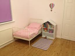 belle and boo wall stickers ikea minnen bed our girls room belle and boo wall stickers ikea minnen bed