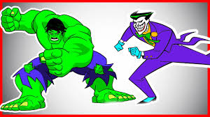hulk vs joker coloring pages let u0027s color youtube
