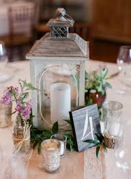 lantern wedding centerpieces rustic wedding reception lantern and table number wedding