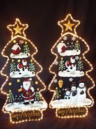 Christmas Home Decor Uk Uk Gardens Father Christmas Tree Light Indoor Or Outdoor Home