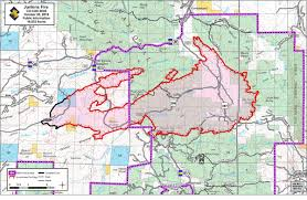 Usfs Fire Map Wildfire Krcc