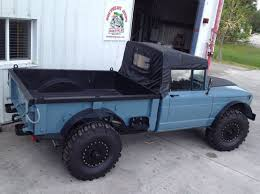 jeep kaiser 1967 kaiser jeep m715 5 4 1 25 ton utility truck completely