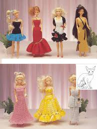 Vintage Crochet Pattern Pdf Fashion by Digital Vintage Crochet And Sewing Pattern Dolls Clothes Teenage