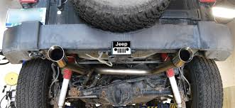 jeep wrangler performance exhaust 2007 2017 jeep wrangler trail cat back performance exhaust