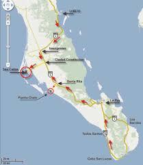La Paz Mexico Map by Whale Tour Mag Bay Tours