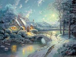christmas winter scenes wallpaper best resume collection