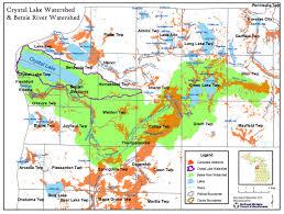 Map Lake Michigan by Crystal Lake U0026 Watershed Association Crystal Lake Watershed Maps