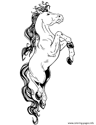 fantasy horse coloring coloring pages printable