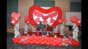 Wall Decoration With Balloons by 25th Anniversary Balloon Decoration By 17 Degree Event U0026 Weddings