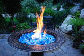 Glass Firepit Glass Rocks For Pit Contemporary Pits Las Vegas Brilliant