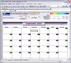 Excel Calendars Templates Excel Calendar Template