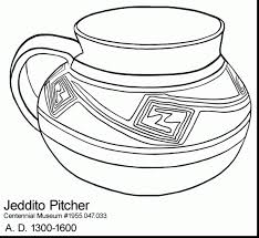 mexican coloring pages coloring download pottery coloring pages ancient greek pottery