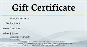 gift template blog free gift certificate templates