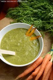 je cuisine les fanes cuillère et charentaises soupe de fanes de carottes