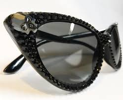 Party Glasses Swarovski Crystal High End Handcrafted Accessories U0026 Wearable Art Bunny Paige
