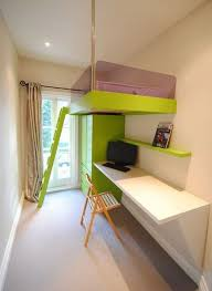 Loft Beds With Desk For Adults Mixing Work With Pleasure Loft Beds With Desks Underneath