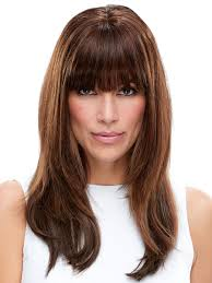 clip in fringe easifringe human hair monofilament clip in fringe by easihair