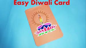 how to make super easy diwali card for kids diwali card 1