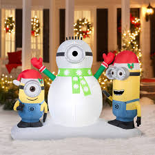 christmas inflatables outdoor christmas yard decorations decoration image idea