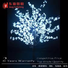 white outdoor lighted christmas trees outdoor white metal lighted christmas tree with cherry blossom buy