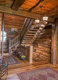 breathtaking log cabin flooring ideas knotty alder wood