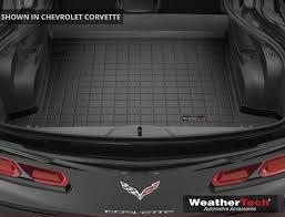 c7 corvette accessories c7 corvette weathertech cargo mats trunk