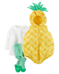 halloween bibs little pineapple halloween costume carters com