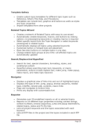 Skills For A Job Resume Technical Writing Tools