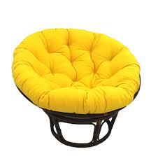international caravan 42 inch rattan papasan chair with solid