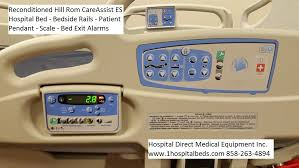 hill rom careassist hospital bed hospital beds