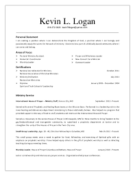 Pastoral Resume Samples by Resume Kevin Logan Ministry Resume 2014 10 10