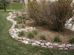 Rocks For Garden Edging Edging Mulch Drainage Solutions Des Moines Iowa Landscaping