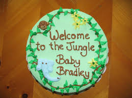 jungle theme baby shower cake piped dreams jungle theme baby shower cake