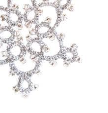 large silver beaded ornament on luulla