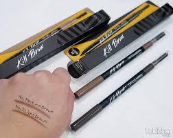 clio tattoo eyebrow pen review clio kill brow perfect your korean brows tebisha com