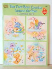 vintage care bear coloring book ebay