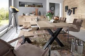 tavoli sala pranzo tavolo da pranzo gold in legno massiccio mobile moderno sala