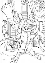 heroes coloring for picture cartoon kids fantastic four coloring