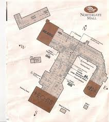 Oak Park Mall Map Map Of Northgate Image Gallery Hcpr