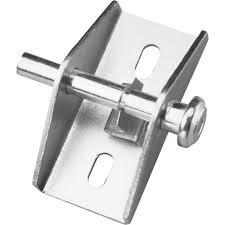 Sliding Patio Door Lock Prime Line Zinc Push Pull Sliding Patio Door Lock U 9853 The