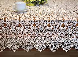 macrame lace tablecloths