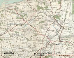 Dundee Scotland Map Old Roads Of Scotland