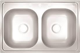 mobile home kitchen sinks 33x19 proplus part 81951323158 proplus 3 hole double bowl kitchen