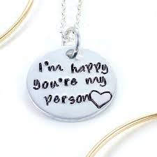 valentines day necklace valentines day necklace youre my person